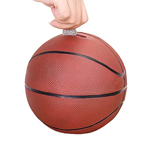 LHZMD Basketball Kinder Spardose Geschenke Geschenkideen Für Kinder Baby Junge Mädchen Zum Geburtstag Weihnachten Einschulung Taufe Geburt Sparschwein