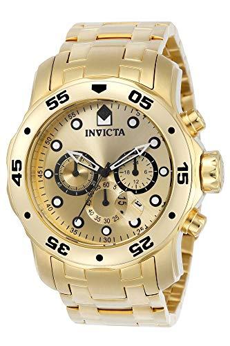 Invicta 0074 Pro Diver - Scuba Reloj para Hombre acero inoxidable Cuar
