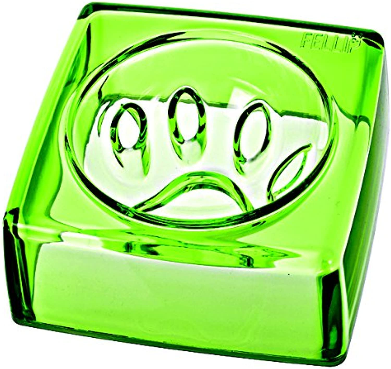 FelliP Kristal Pet Bowl (Good Manners), 14cm, Jade