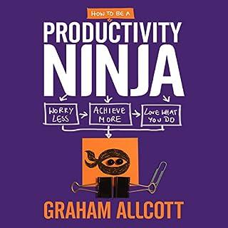 How to be a Productivity Ninja cover art