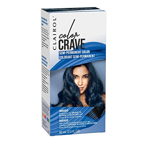 Clairol Color Crave Semi-permanent Hair Color, Indigo, 1 Count