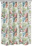 Barefoot Bungalow GL-1804ASHW Shower Curtain, One Size, Multicolor
