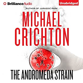 The Andromeda Strain audiobook cover art