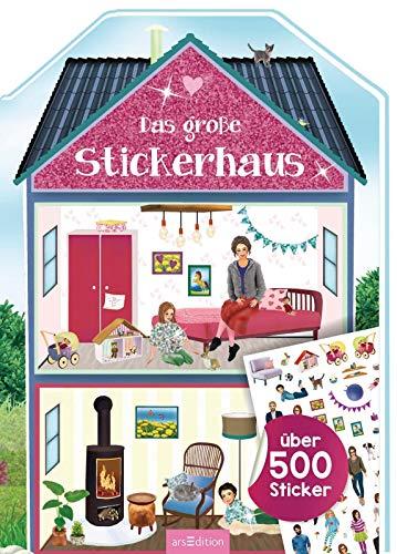 Das große Stickerhaus: über 500 Sticker