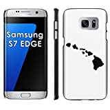 Samsung Galaxy [S7 Edge] Phone Cover, Hawaii Islands- Black Slim Clip-on Phone Case for [Samsung Galaxy [S7 Edge]]