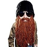 Beard Head Barbarian Roadie Beanie, Brown, One Size