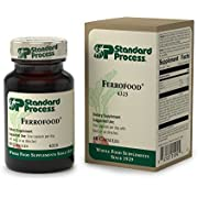 Standard Process - Ferrofood - Iron Supplement, Provides Antioxidant Vitamin C, Vitamin B12, and Iron, Supports Healthy Blood Production, Enzyme Actions, Cellular Integrity - 40 Capsules