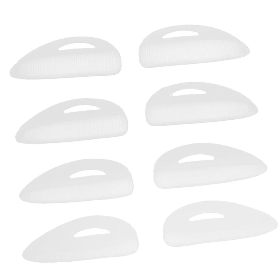 創造北洗剤T TOOYFUL つけまつげパッド シリコン まつげリフト パーマカーラーパッド/シールド/ロッド 快適 再利用可 4ペアセット