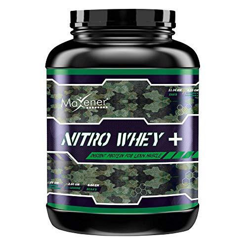 Maxener Wellness Nitro Whey Plus 100% Whey Protein 4 LBS Chocolate