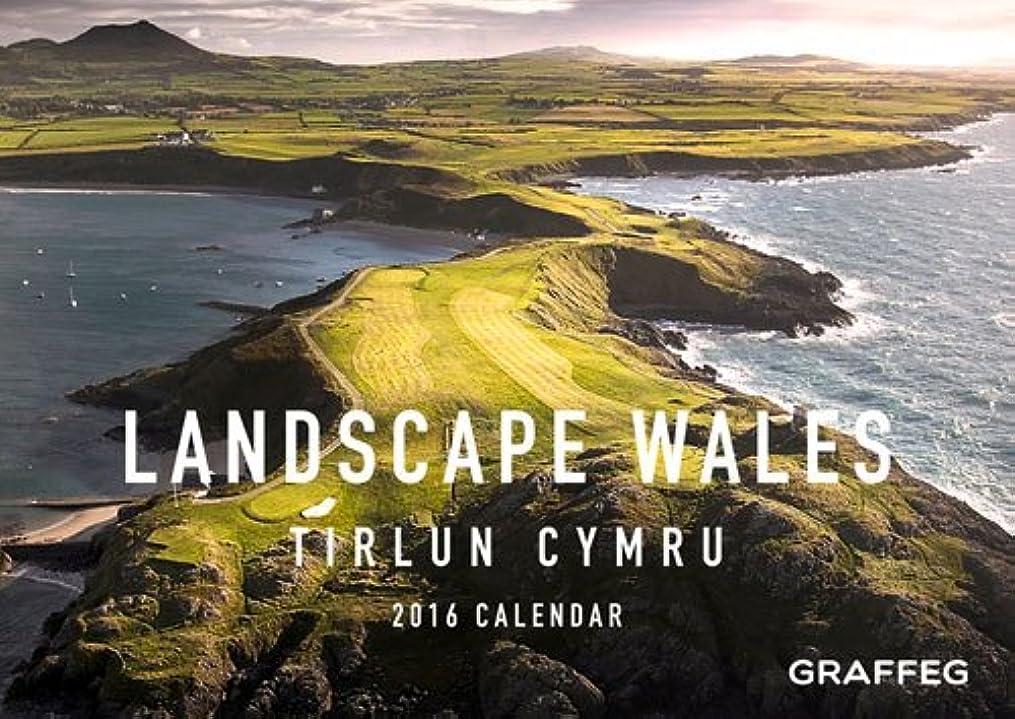 解き明かす迅速お尻Landscape Wales 2016 Calendar (Calendars 2016)