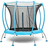 SkyBound Atmos 8 ft Trampoline with Full Enclosure Net System