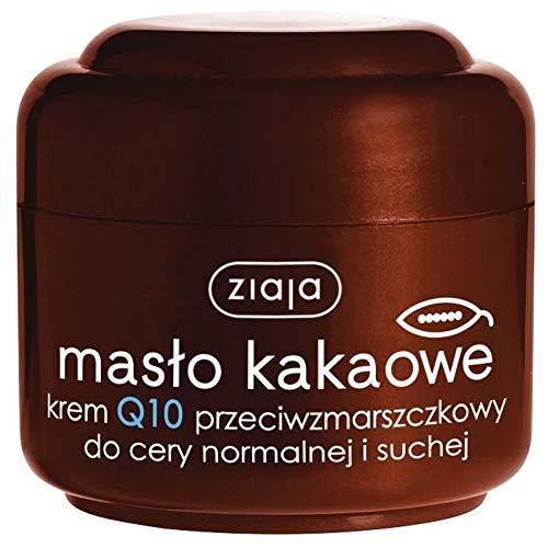 KAKAOBUTTER Q10 Ziaja Gesichtscreme Anti-Falten für trockene und normale Haut