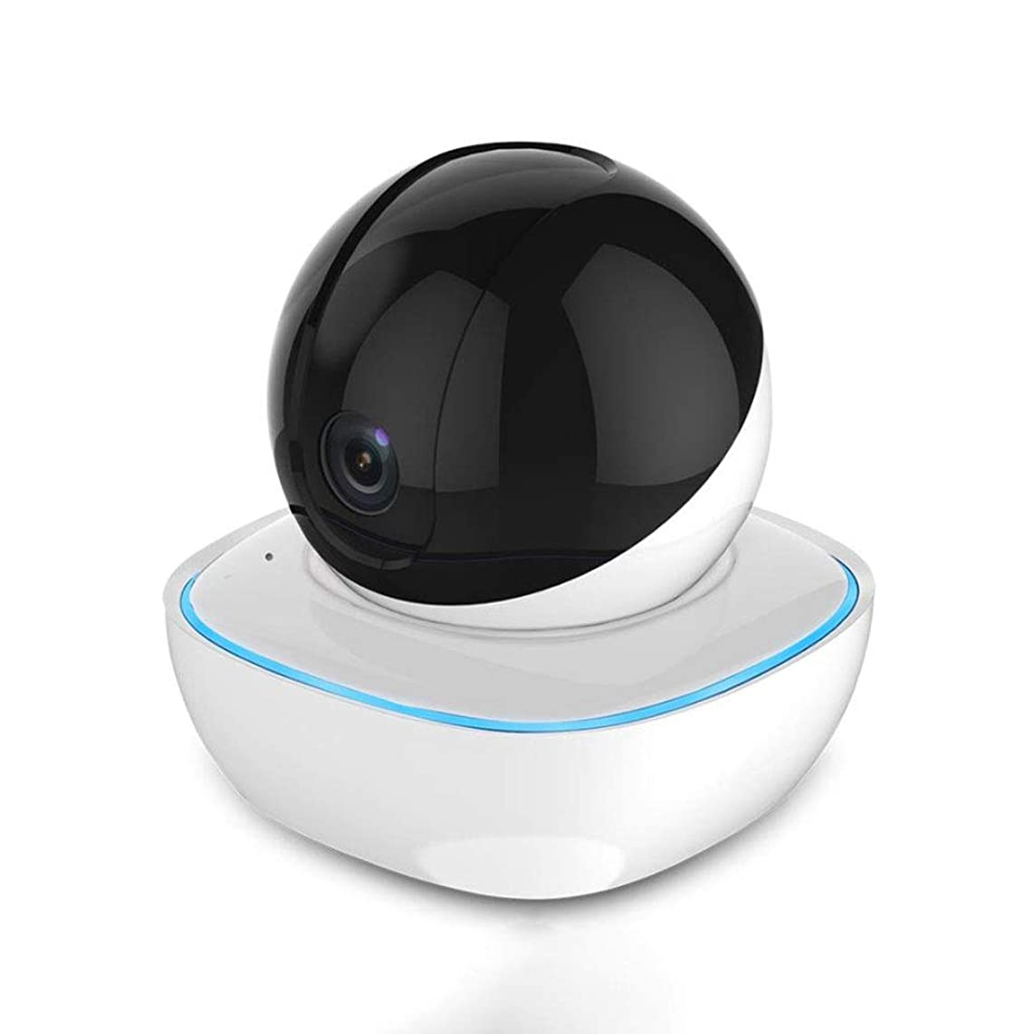 L-San 720p HD Camera Indoor Wireless IP Security Monitoring System with Remote Monitor Two-Way Voice Night Vision Suitable for Home Office Baby Pet Monitor