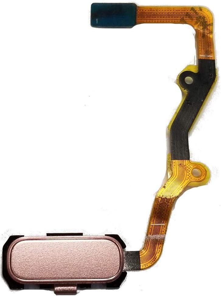 Lysee Mobile Phone Flex Cables - For Samsung Galaxy S7 edge SM-G935 White/Blue/Black/Gray/Gold/Pink Color Fingerprint Home Button Flex Cable - (Color: Black)