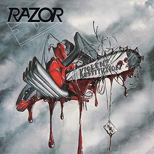 Album Art for Violent Restitution by RAZOR