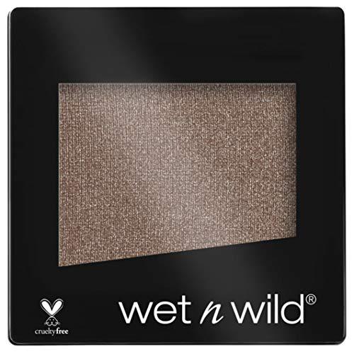Wet N Wild Lidschatten - Color Icon Eyeshadow Glitter Single / hochpigmentierter Glitzer Lidschatten, vegan, Nutty, 1 Stück, 10g