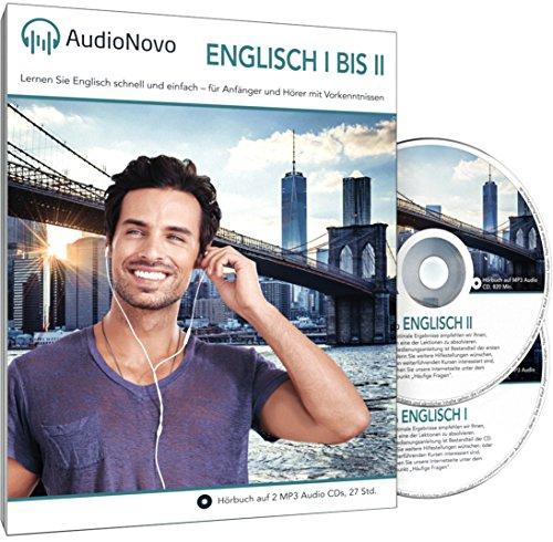 AudioNovo Englisch II - Englisch lernen für Anfänger und Wiedereinsteiger (Audio Sprachkurs 28Std, inkl. iOS und Android App)
