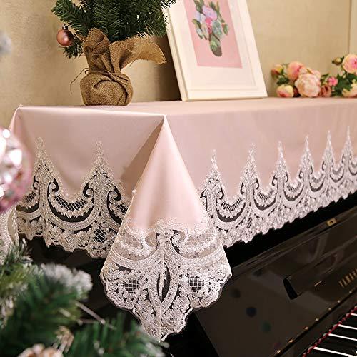 Europese piano afdekking kant borduurwerk afdekking handdoek piano stof cover doek afdekking piano kruk afdekking