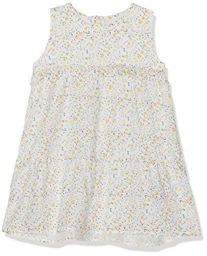 Name It NBFDAMITA Spencer Robe, Multicolore (Snow White Snow White), 68 cm (Taille du Fabricant: 68) Bébé Fille