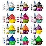 Zoom IMG-1 colorante alimentare liquido 12 colori