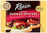 Reese Large Smoked Oysters - 3.7 oz