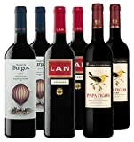 Bodegas LAN, S.A. Pack Vino Tinto Rioja, Ribera del Duero y Douro - 6 botellas de 750 ml - Total: 4500 ml