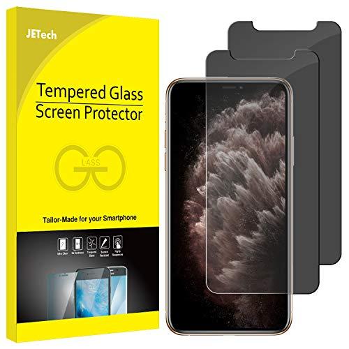 """JETech Privacy Pellicola Protettiva Compatible iPhone 11 PRO Max/XS Max 6.5"""", Anti Spy in Vetro Temperato, Pacco da 2"""