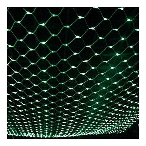 ASKLKD Mehrere Größen Fenster Vorhang Lichterketten, LED Blau Netto Lichter Weihnachtsbeleuchtung For Outdoor-Weihnachtsbaum Feiern Dekoration (Color : D-4 * 6m880LED)