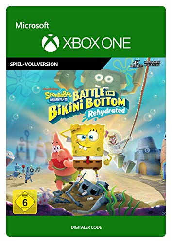 SpongeBob SquarePants Battle for Bikini Bottom - Rehydrated | Xbox One - Download Code