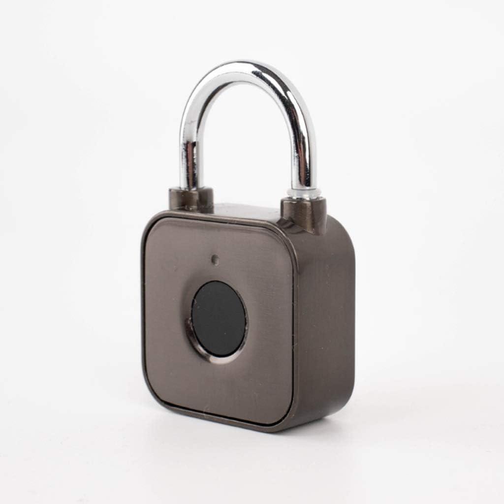 UXZDX CUJUX Zinc Alloy Fingerprint Padlock, Luggage Cabinet, Loc