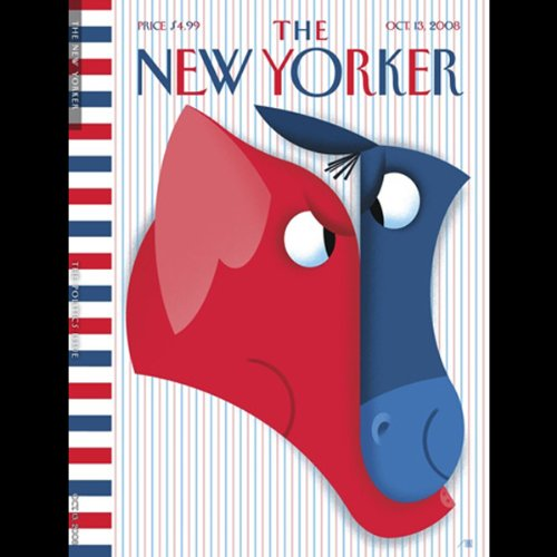 The New Yorker, October 13th, 2008 (Pamela Colloff, George Packer, James Wood) audiobook cover art