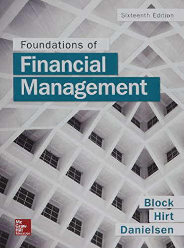 Foundations of Financial Management with Connect Access Card