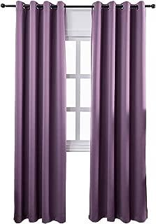 Best purple window curtains Reviews