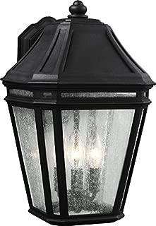 Feiss OL11302BK-LED Londontowne LED Marine Grade Outdoor Patio Lighting Wall Lantern, Black, 1-Light (10