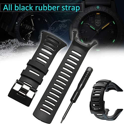 Crazywind Bracelet de montre en caoutchouc pour Suunto Ambit 3 Ambit 2 Ambit 1