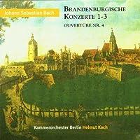Brandenburg Concertos.1-3, Orchestral Suite.4: Koch / Berlin.co
