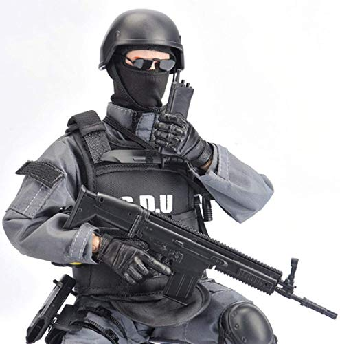 ZSMD 1/6 Soldier Action Figure, Movable Joints Military Action Figure Model Soldiers Toys