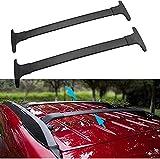 2 piezas Barra de techo Aluminio para Ecosport 2013-2020   Barras transversales para portaequipajes de techo   Soporte para techo de bicicleta para Exterior Deportes y Viaje
