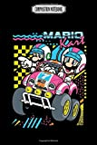 Composition Notebook: Nintendo super mario kart 80's mario and luigi consoles super lanyard gameboy handheld nintendo Journal Notebook Blank Lined Ruled 6x9 100 Pages