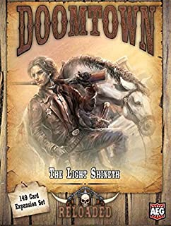 Alderac Entertainment Group (AEG) Doomtown Reloaded The Light Shineth Board Game