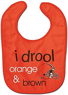 WinCraft NFL Cleveland Browns WCRA1963115 All Pro Baby Bib