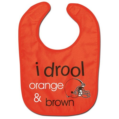 WinCraft NFL Cleveland Browns WCRA1963115 All Pro Baby Bib>