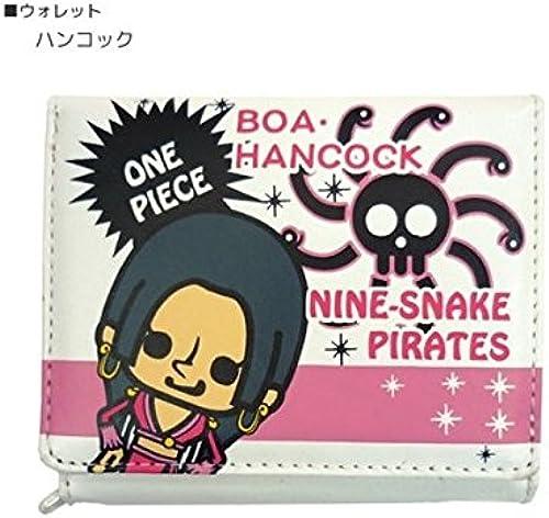 One piece x PansonWorks  glitter  short wallet (2 fold wallet) [Hancock] animated cartoon character goods mail order (japan import)