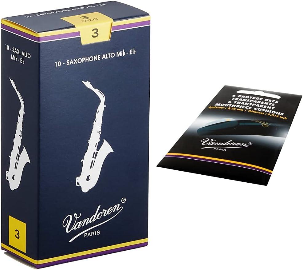Vandoren SR213 Alto Sax Traditional Reeds Box Dedication Strength of Limited price 3; 10