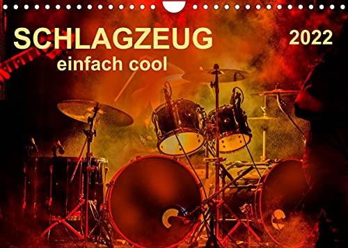 Schlagzeug - einfach cool (Wandkalender 2022 DIN A4 quer)