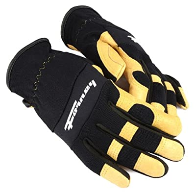 Forney Pigskin Leather Driver Premium Stretchable Women's Gloves