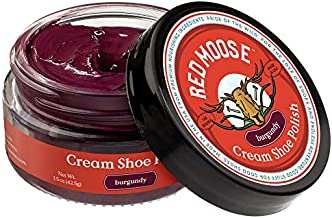 Premium Boot and Shoe Cream Polish - Made in the USA - Red Moose