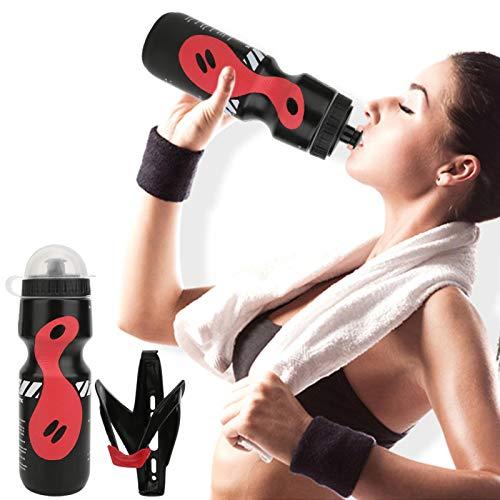 Pwshymi con Soporte y Tapa para Botella de Agua Soporte Ligero para Botella de Bicicleta para Mujeres y Hombres Universal(Cages)
