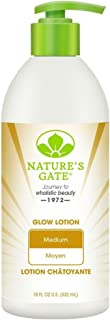 Nature's Gate Medium Skin Glow Lotion, 18 Ounce