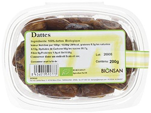 BIONSAN - BIO - Dattes 200 g